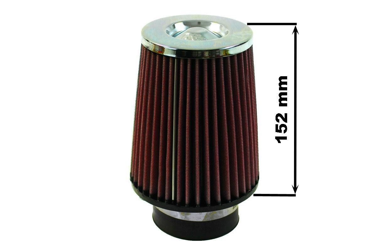 Filtr stożkowy K&N RC-4650 60-77mm - GRUBYGARAGE - Sklep Tuningowy